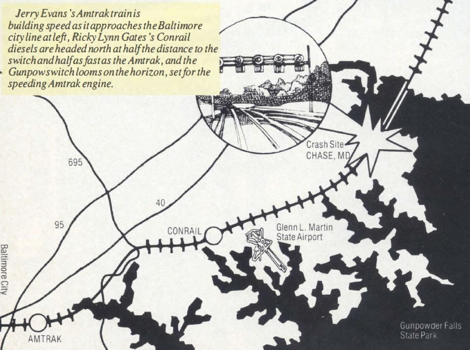 Amtrak Crash Map