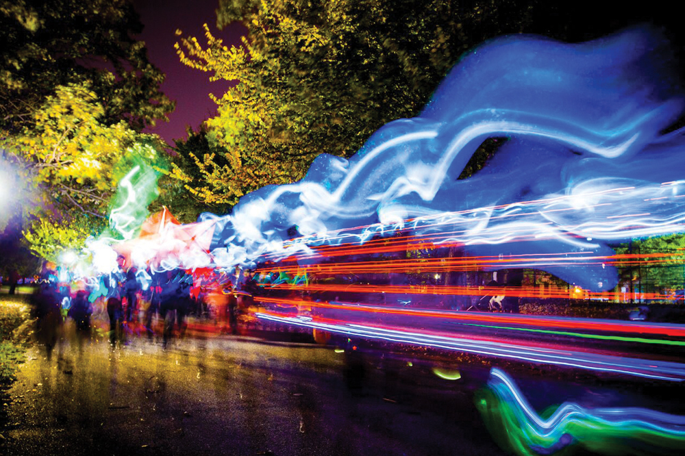 Bmore Halloween Lantern Parade 2017