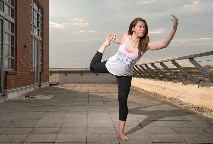 Breathe Yogathon Annie Truax
