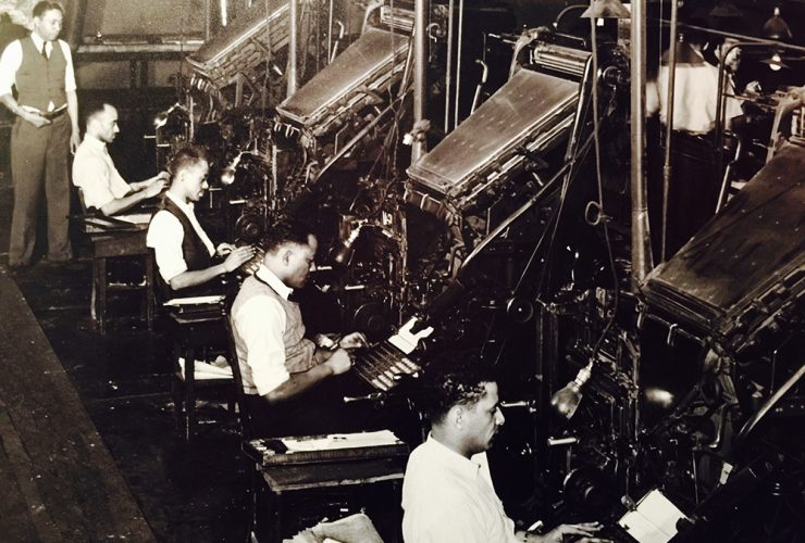Chatter Linotype