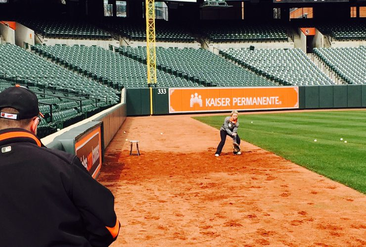 Chatter Orioles Ball Tryouts
