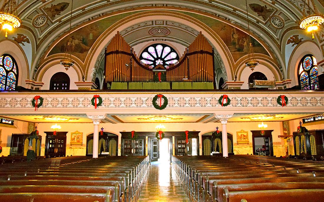 Church  Holy Rosary Organ