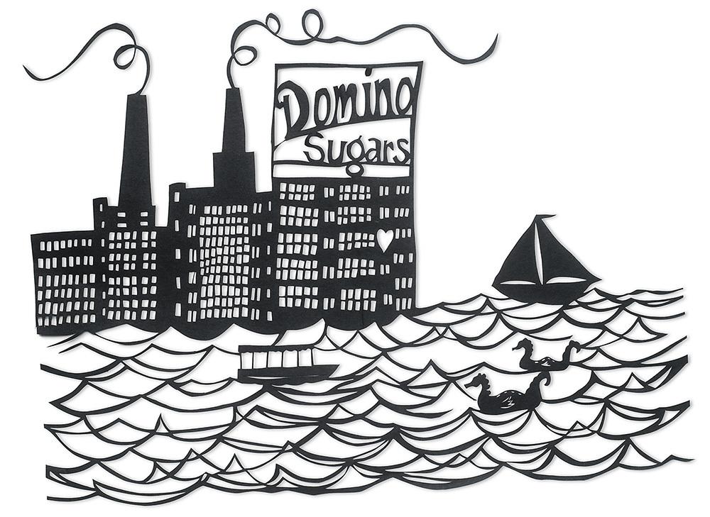 Domino Papercut