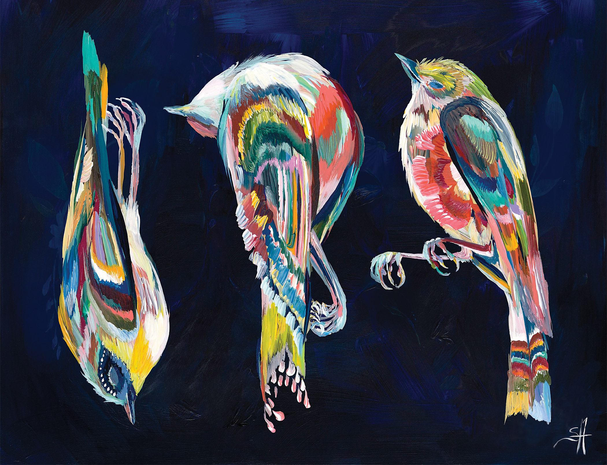 For the Birds Painting