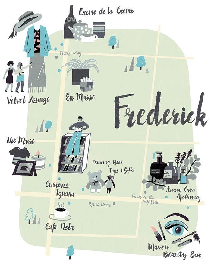 Frederick Map Dd