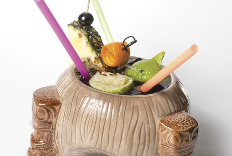 Garnishes The Scorpion Bowl@ Pen Quill 11