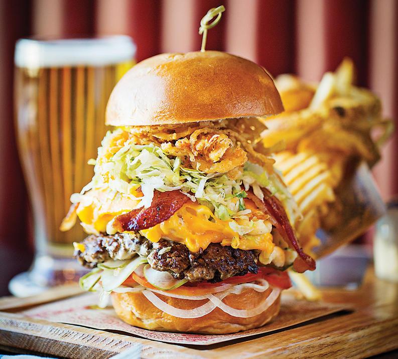 Review Guy Fieri S Restaurant Kitchen Bar Baltimore Magazine