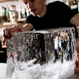 Hand Cut Ice At Clavel 9603
