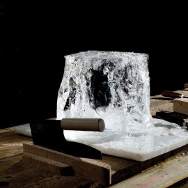 Hand Cut Ice At Clavel 9704