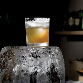 Hand Cut Ice At Clavel 9866