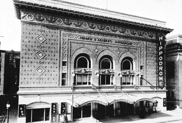 historic b-w exterior