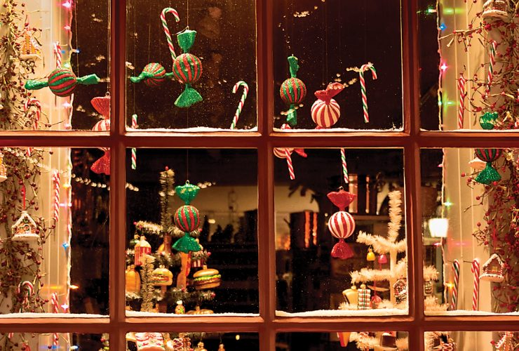 Holiday Window 1 - Baltimore Mag - Michael D Golden