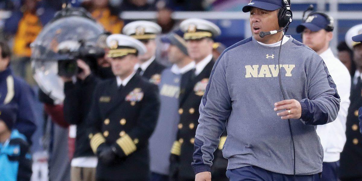 Navy football coach 1
