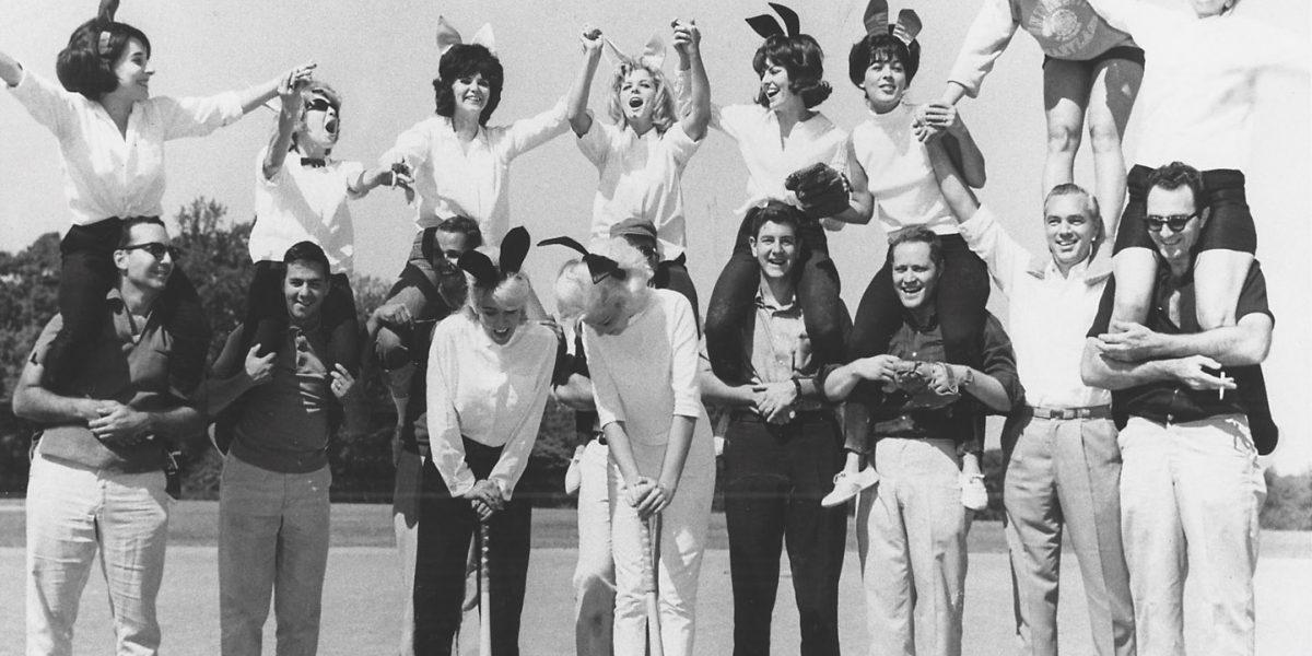 Playboy bunnies in Druid Hill Park