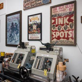 Puschert's memorabilia collection