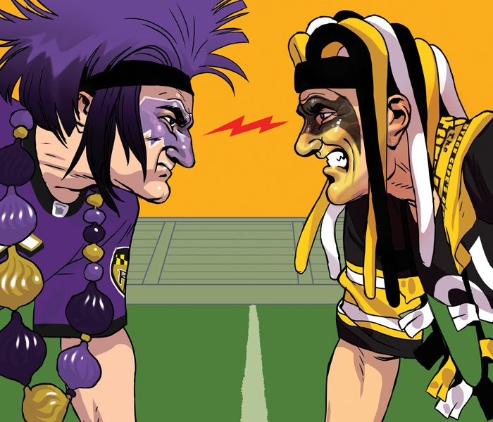 Ravens Vs Steelers A Rivalry For The Ages Baltimore Magazine