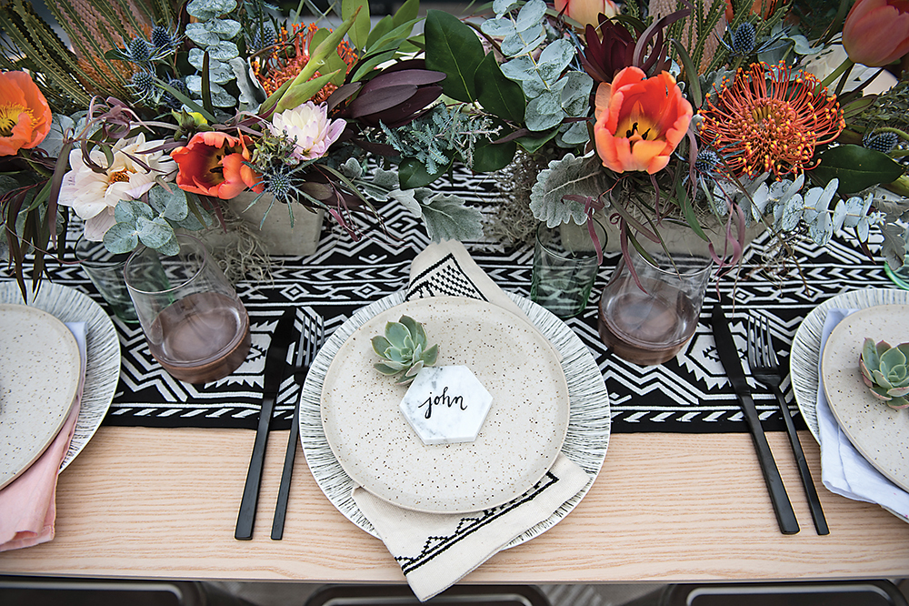 Rooftop Tablescape