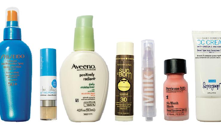 sun skin care products