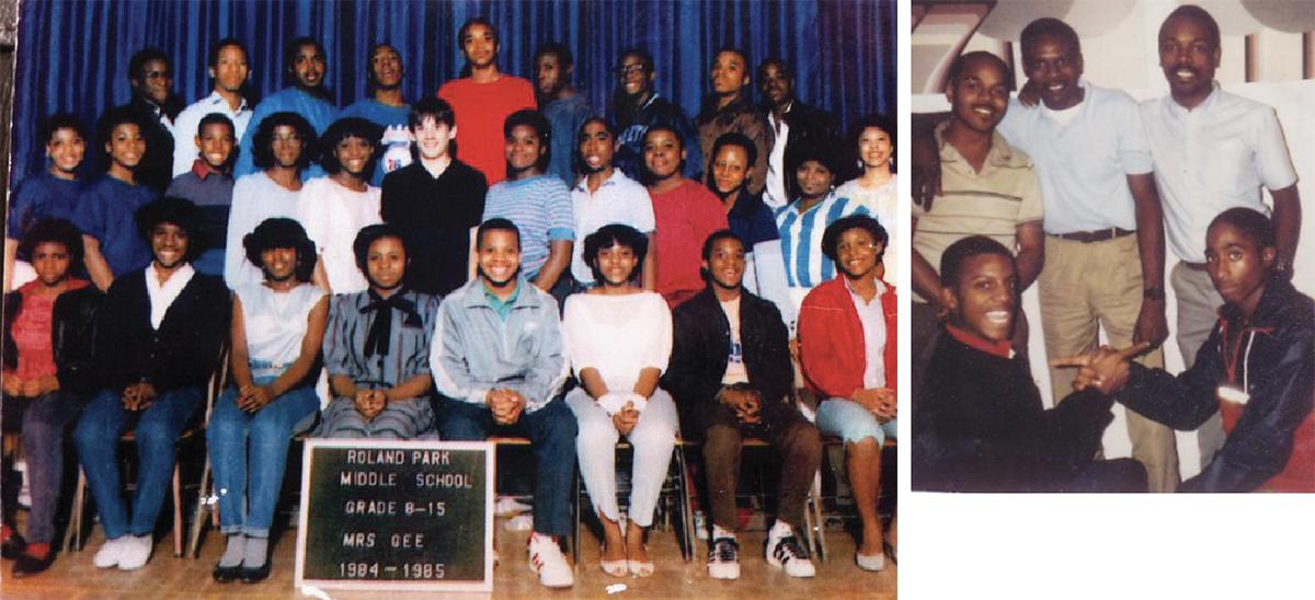 Tupac School Photos