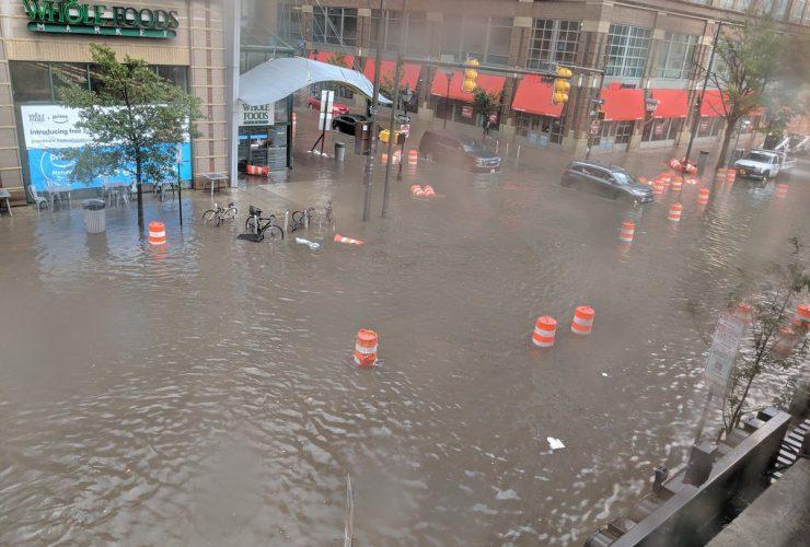 Flooding Whole Foods