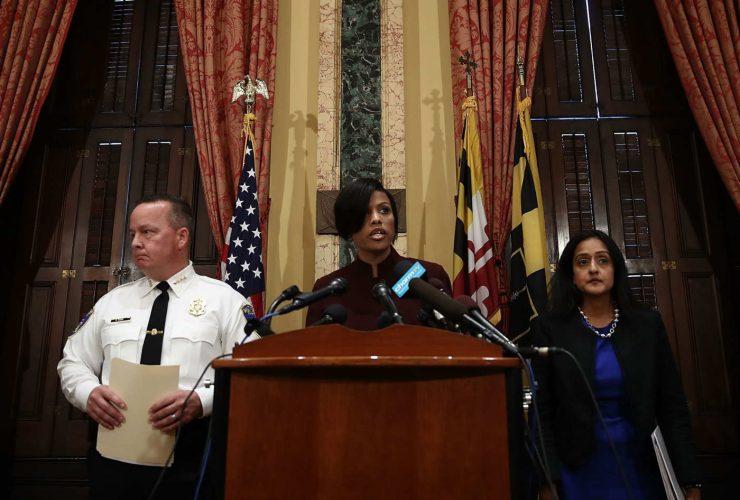10 Baltimore Police DOJ Presser