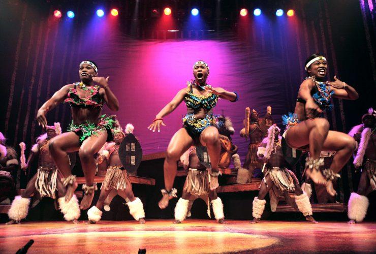 Africa Umoja Tribal Female Dance