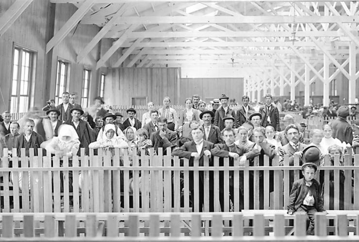B O Railroad Baltimore Immigration