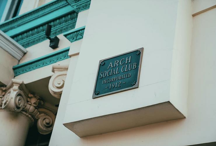 baltimore arch social club
