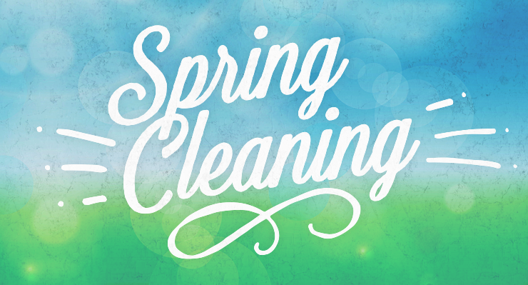 Blog Springcleaning