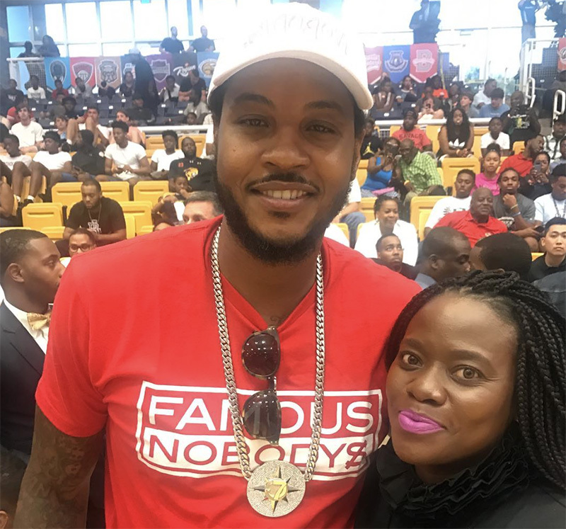 Carmelo Anthony Coppin