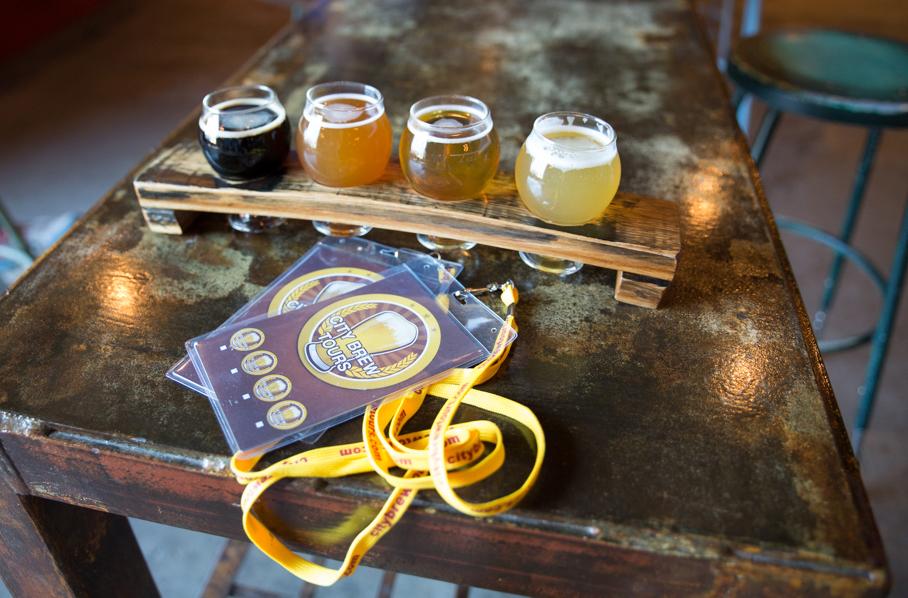 City Brew Tours Flight