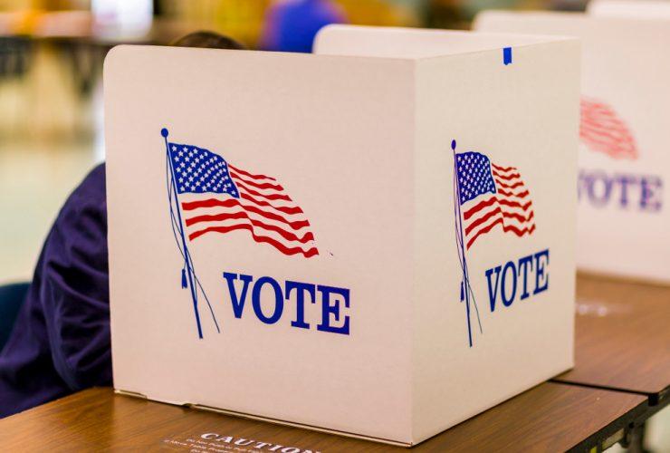 Election Day Cheat Sheet Shutterstock