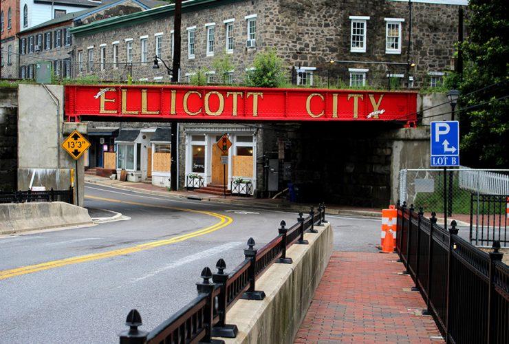 Ellicott City Building Razing