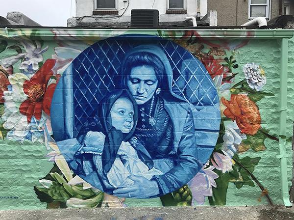 Gaia Mural Remington