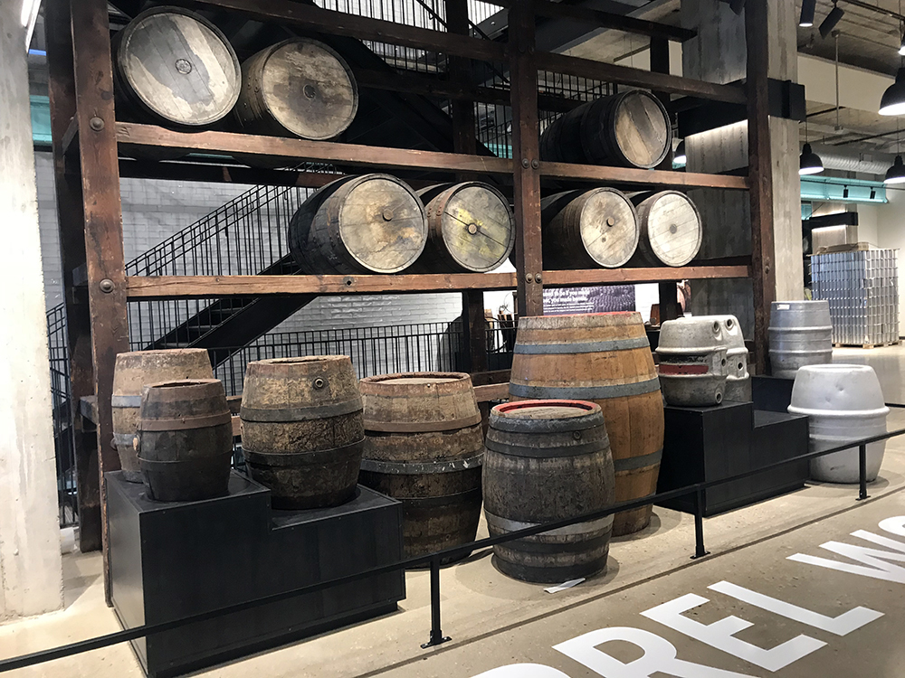 Guinness Historic Barrels