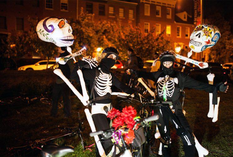 Halloween Bike Party