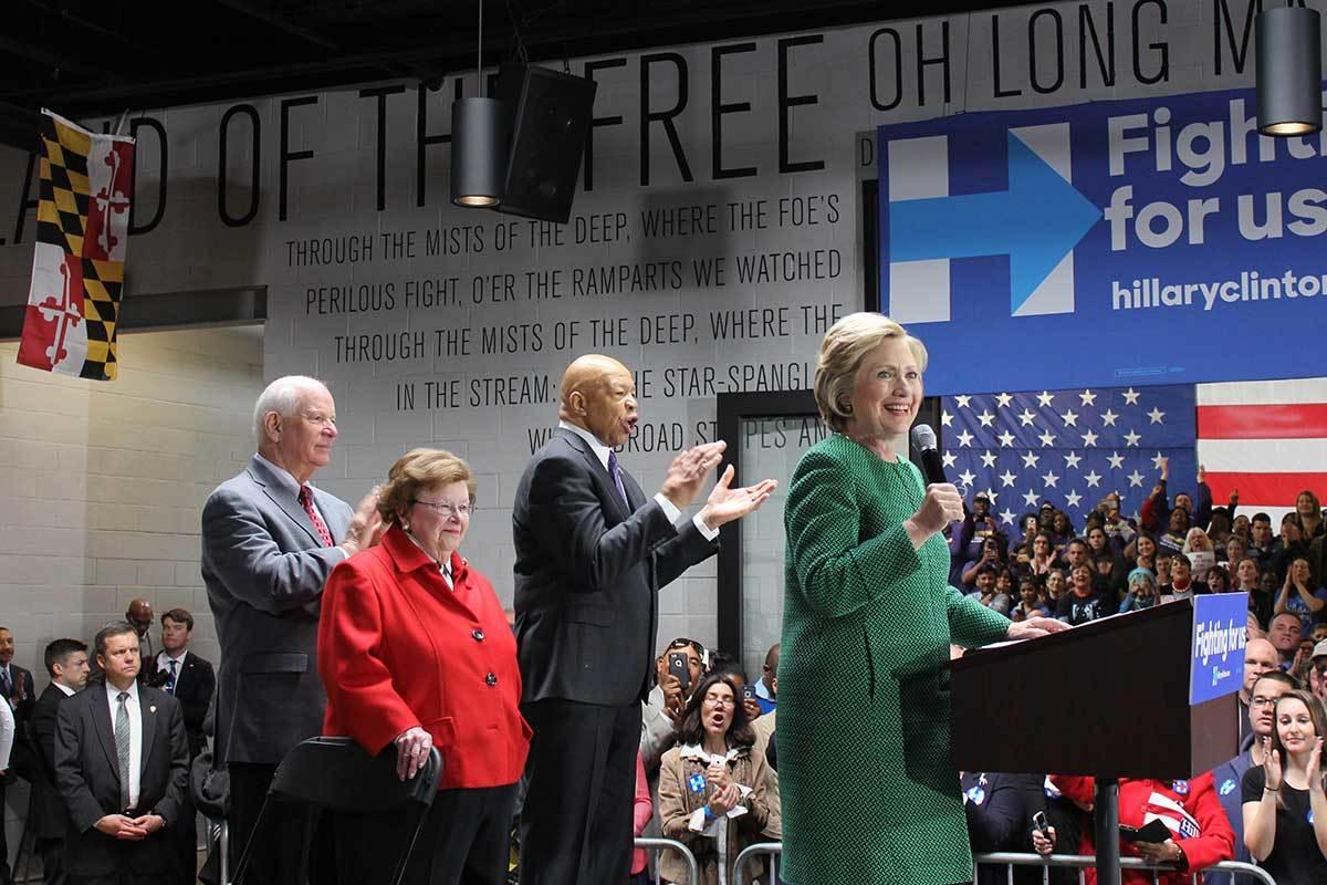 Hillary Clinton Baltimore