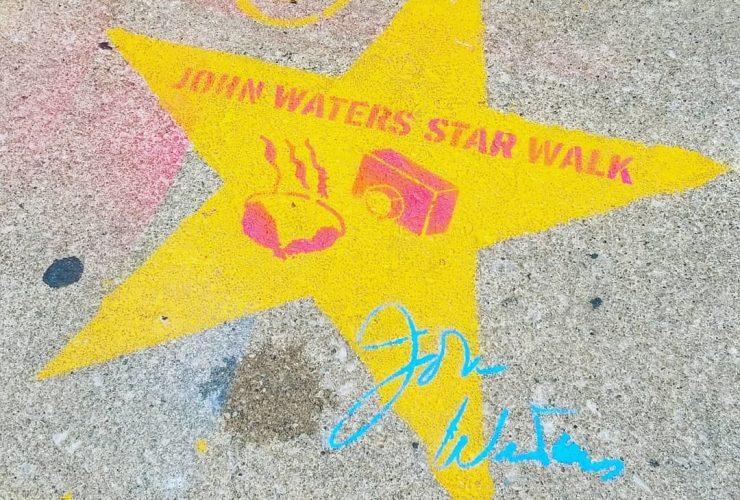 John Waters Star Walk