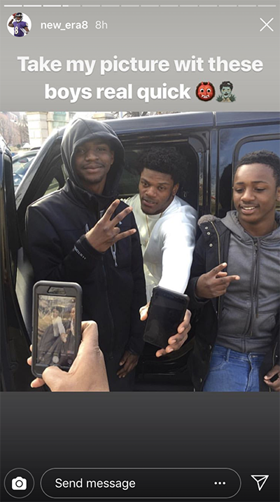 Seven Reasons Why It S Easy To Love Lamar Jackson Baltimore Magazine