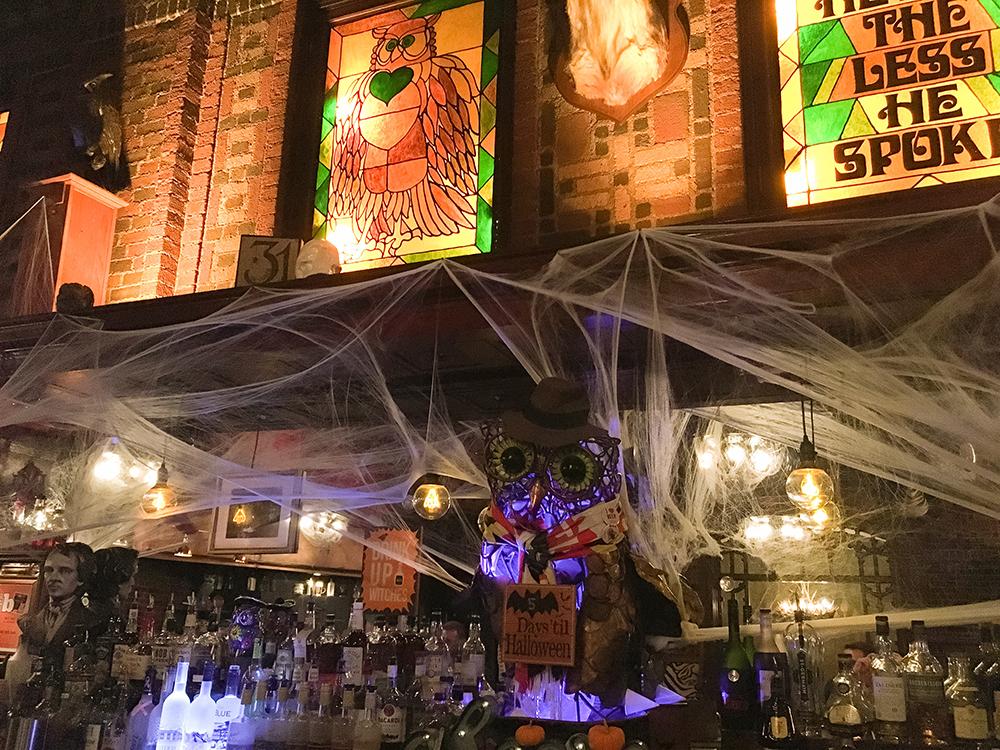Owl Bar Halloween