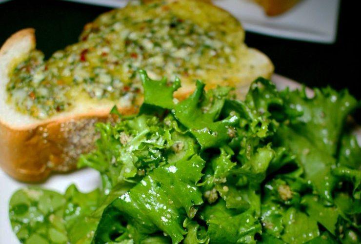 Peters Inn Garlic Salad