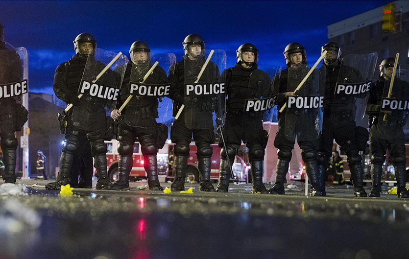 Police Riot Shields