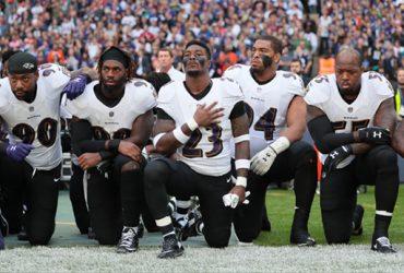 Ravens Kneel