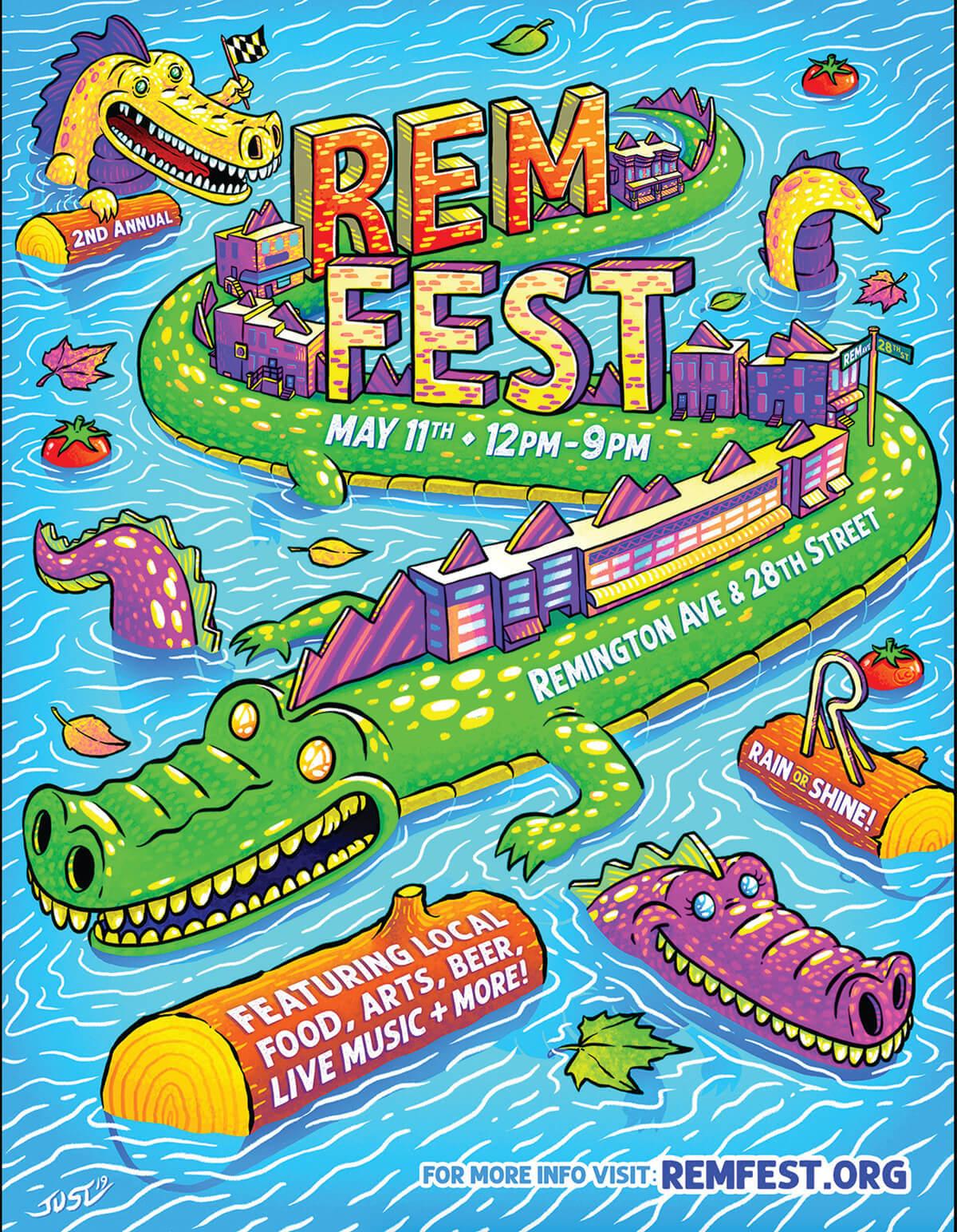 Remfest Poster
