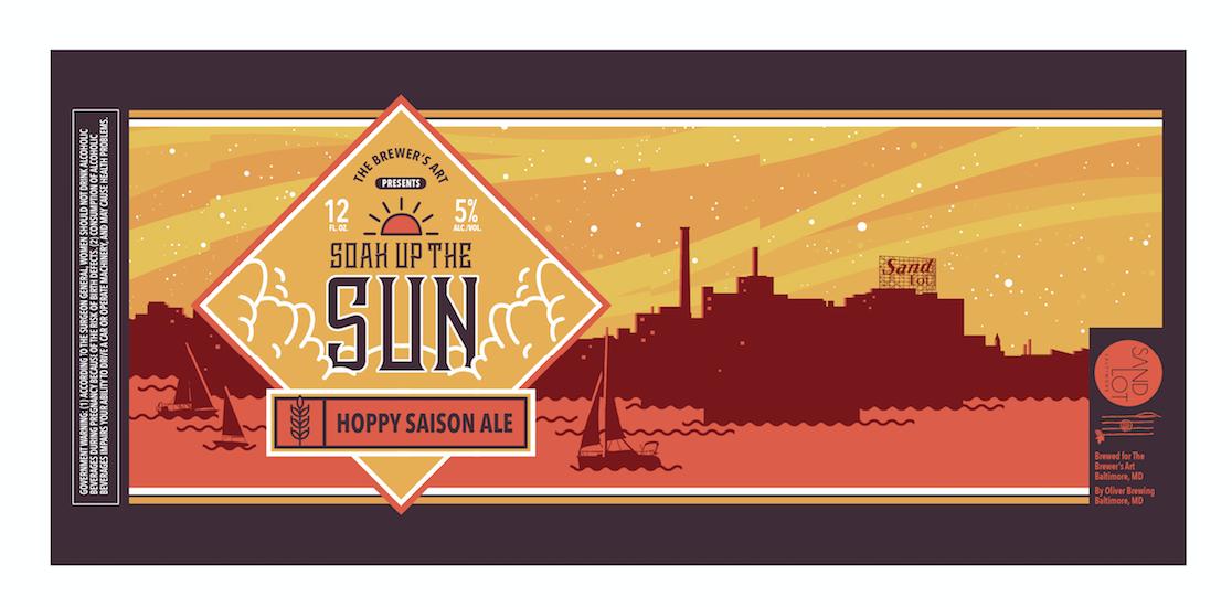 Sandlot Beer Label