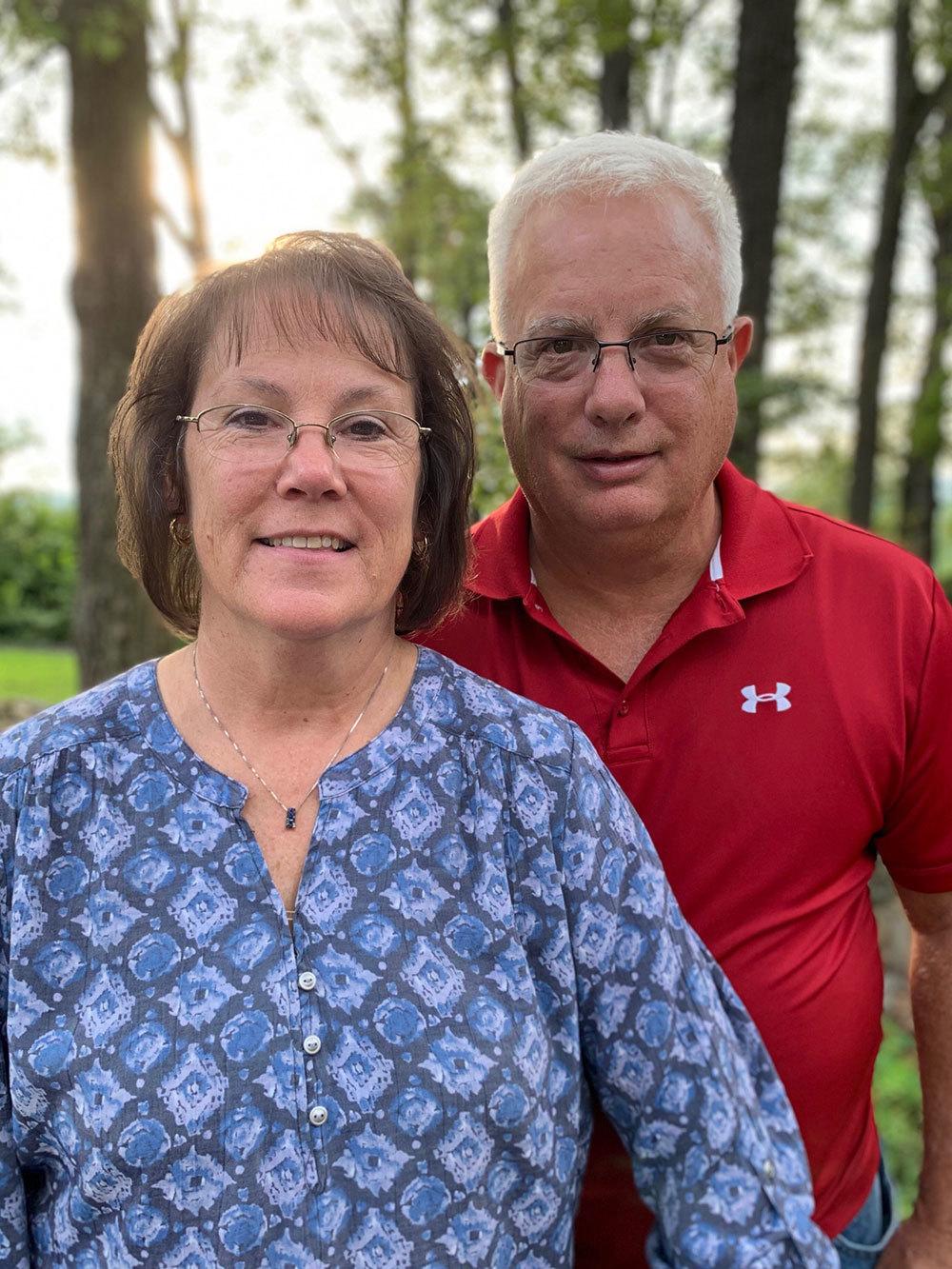 Rick and Sharon Landsman