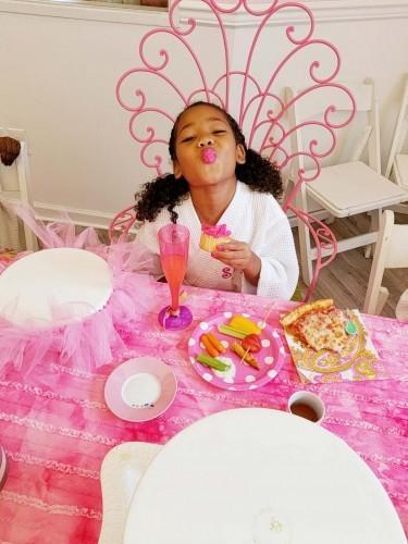 Spa Tea Party Princess Pink Spa Forgirls Maryland 24 375X500