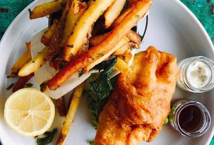 The Corner Pantry Fish Chips