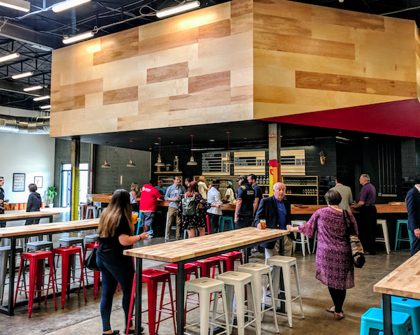 Union Brewing Collective taproom