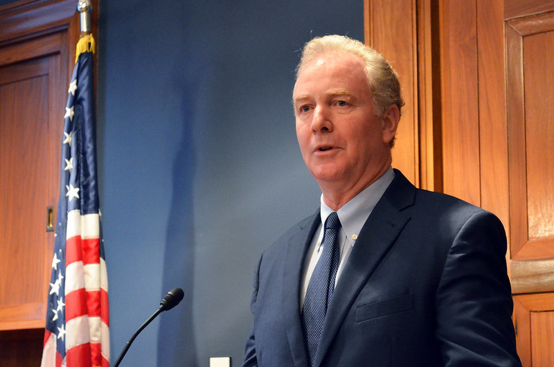 Here's What Chris Van Hollen Had to Say About Trump Tweet - Baltimore Magazine